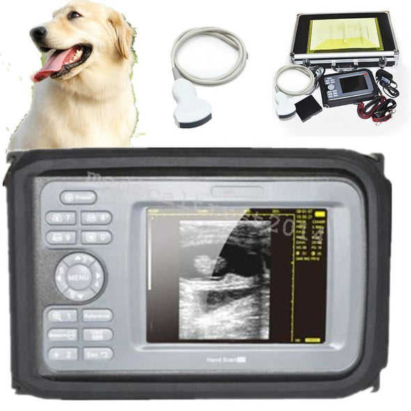 Vet Color Digital PalmSmart Ultrasound Scanner Diagnosis with R50/3.5MHz Convex