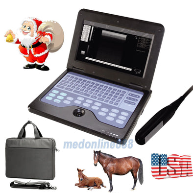 VET Veterinary portable Ultrasound Scanner Machine For cow/horse/Animal,rectal 658126923446