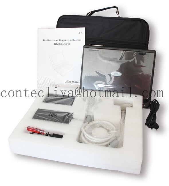 VET Veterinary Portable laptop Ultrasound Scanner Rectal+Micro-Convex ,USA FedEx 658126923446