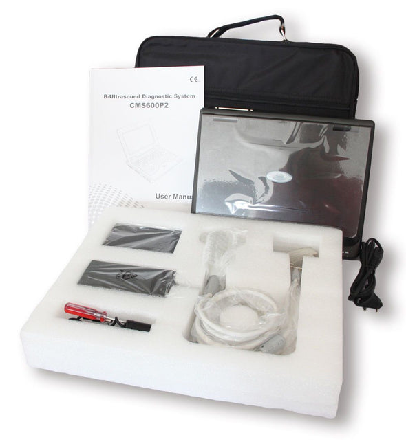 VET Veterinary portable laptop Ultrasound Scanner Machine, 2 Probes, USA Seller 658126923446