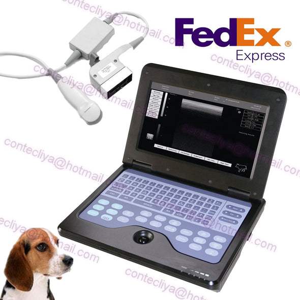 veterinary Portable CMS600P2 Laptop Ultrasound Scanner Machine MicroConvex Probe 658126923446