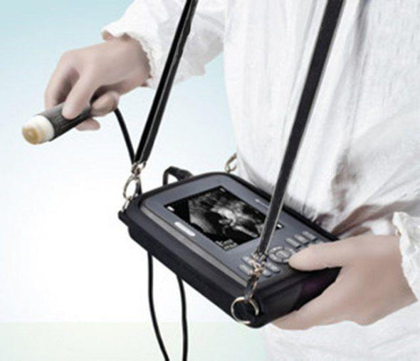 Portable Ultrasound Scanner Animals Veterinary Mechanical Sector Probe +Oximeter 190891726155