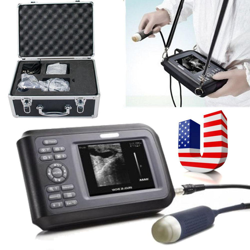 USA! Veterinary Ultrasound Scanner Handscan Probe For Farm Animal Pig Pregnancy