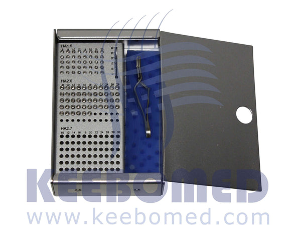 Complete Orthopedic System 1.5/2.0/2.7/3.5/4.0mm, Orthopedic Systems, www.keebovet.com, KeeboVet Veterinary Ultrasound Equipment