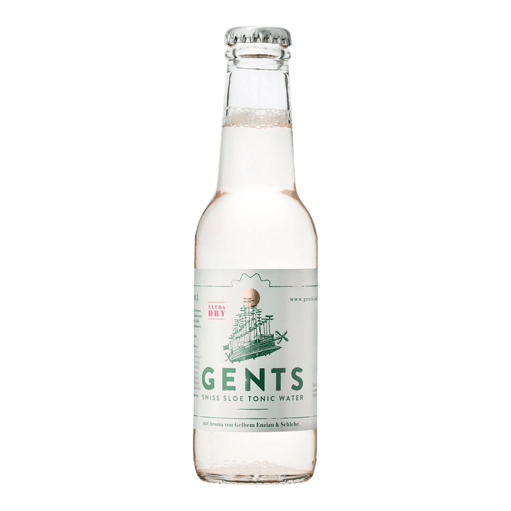 Gents Swiss Sloe Tonic Water - Extra Dry - 20cl