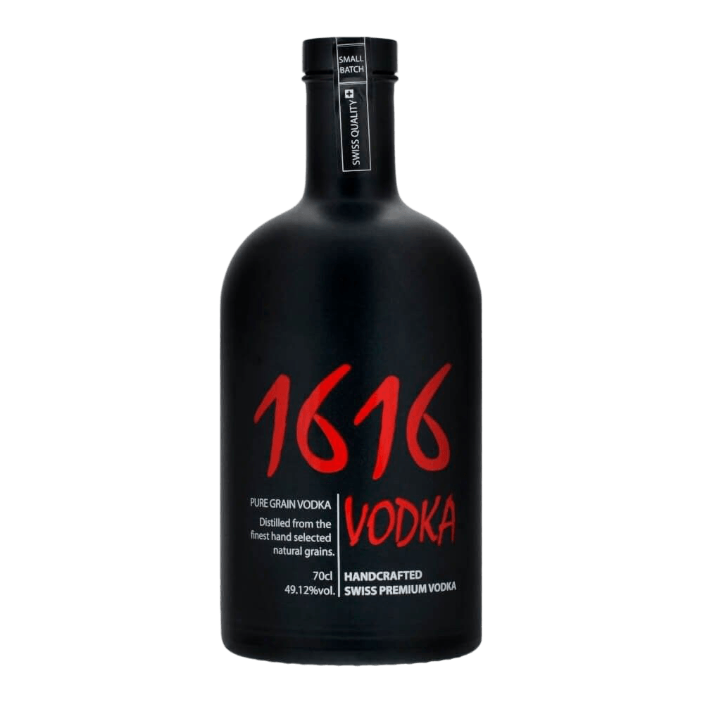 1616 Langatun Vodka Black Edition - 70cl