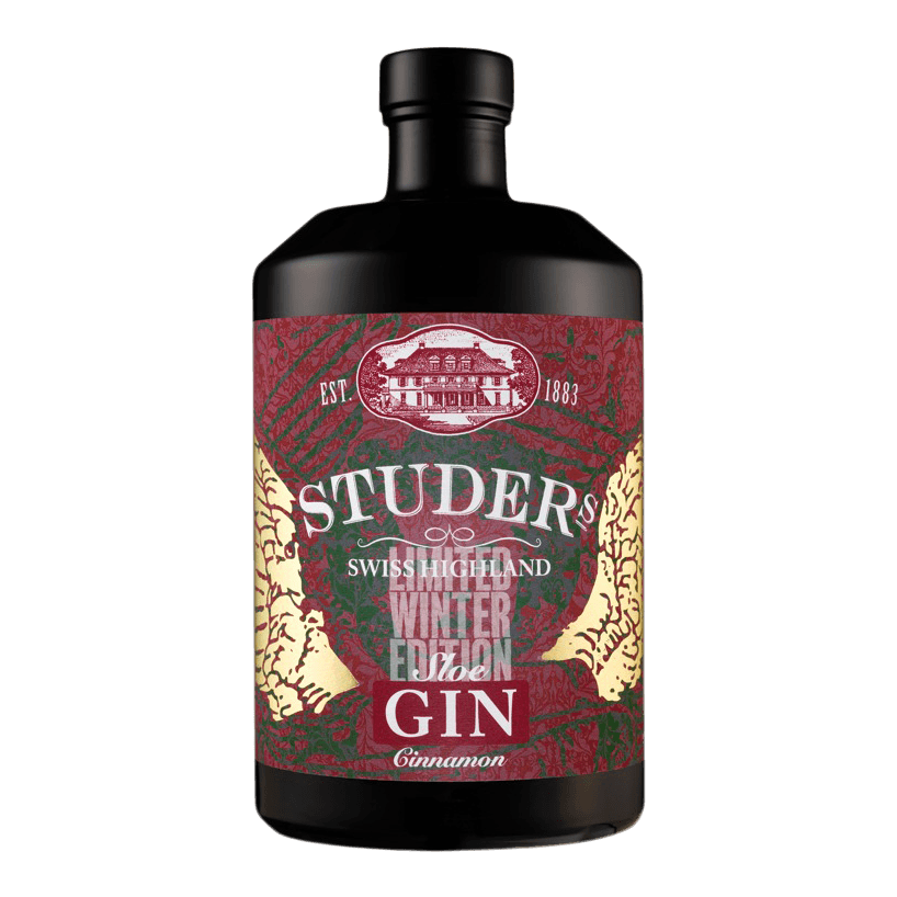 Studer's Swiss Highland Sloe Gin Cinnamon - 70cl - URBN DRNK