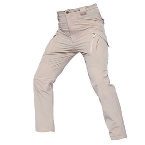 Stretch Hiking Pants Outdoor Military Tactical  Waterproof T Multi Pockets Rip-Stop S Pants