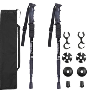 2pcs/lot Trekking Poles Walking Sticks