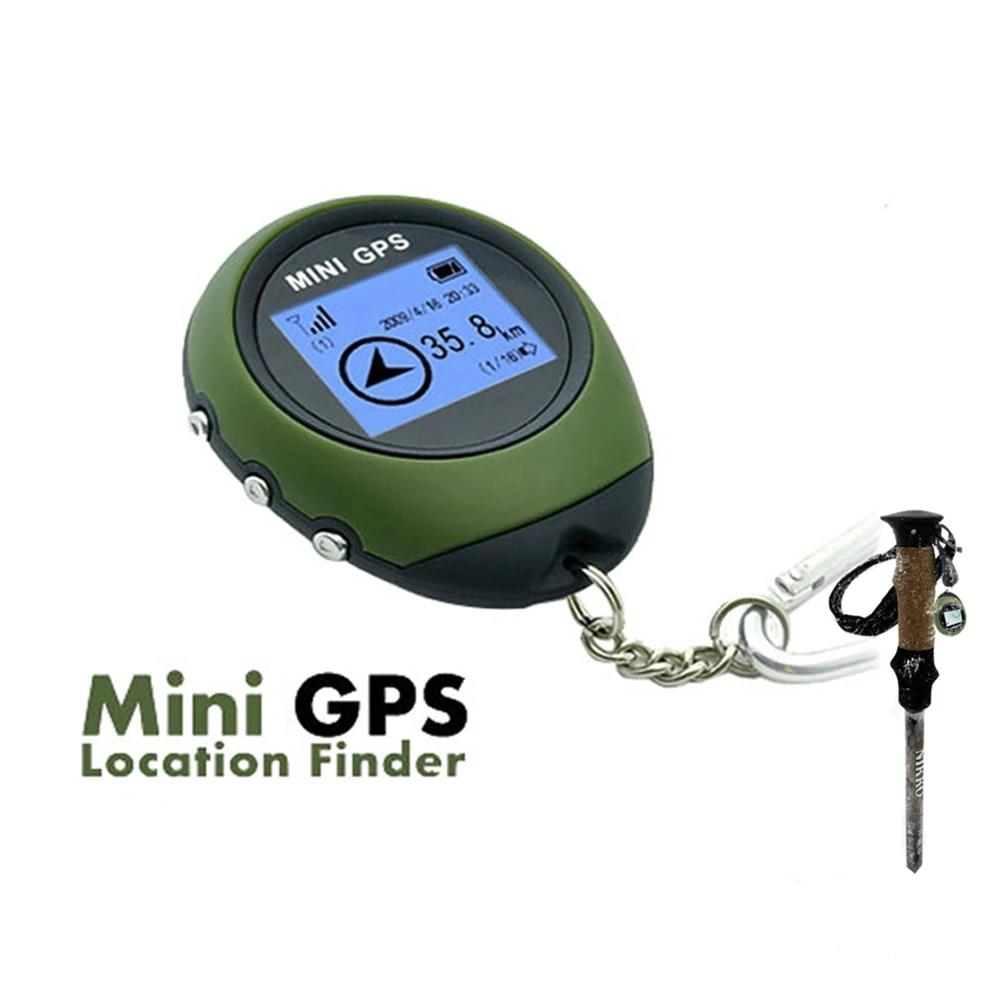 Mini Handheld Survival GPS Navigation Receiver Location Finder USB Rechargeable