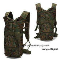 Load image into Gallery viewer, 18 L Men Tactical Bug Out Bag Backpack Military Backpack  Outdoor Travel Camping Backpack