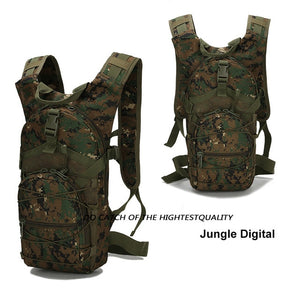 18 L Men Tactical Bug Out Bag Backpack Military Backpack  Outdoor Travel Camping Backpack