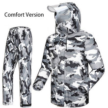 Load image into Gallery viewer, Camouflage Hiking Survival Outdoor Waterproof Rain Suit