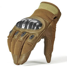 Load image into Gallery viewer, Military Tactical Combat Full Finger Hard Knuckle Glove