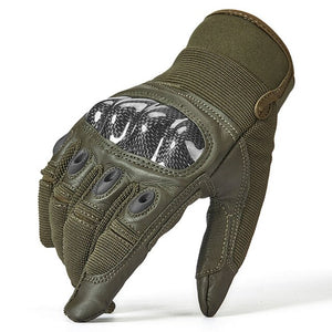 Military Tactical Combat Full Finger Hard Knuckle Glove