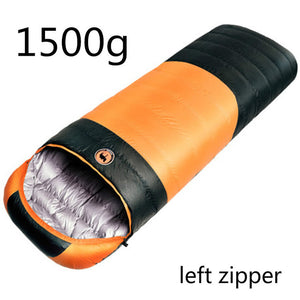 Outdoor Camping Duck Down Autumn And Winter Sleeping Bag