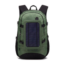 Load image into Gallery viewer, Solar Back Pack Energy Usb Charger Outdoors Travel Bug Out Bag Backpack