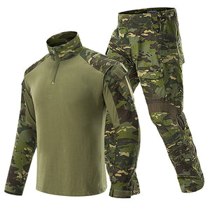 Military Clothing Sets Tactical Uniforms Army Combat Camouflage Suit