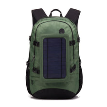 Load image into Gallery viewer, Solar Panel Multi-functional Power Bank Back Pack