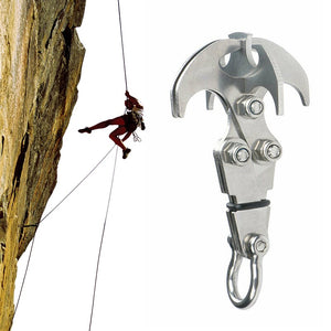 Stainless Steel Survival Folding Grappling Hook Outdoor Climbing Claw