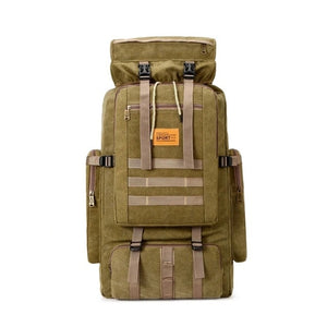 100L Large Capacity Outdoor Tactical  Bug Out Bag Backpack.