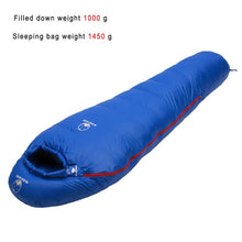 Load image into Gallery viewer, Mummy style Sleeping bag Fit for Winter Camping