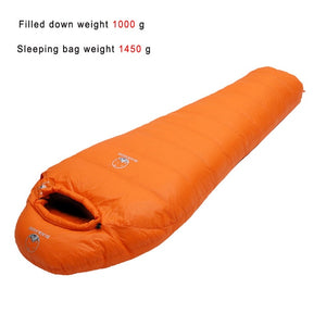 Mummy style Sleeping bag Fit for Winter Camping