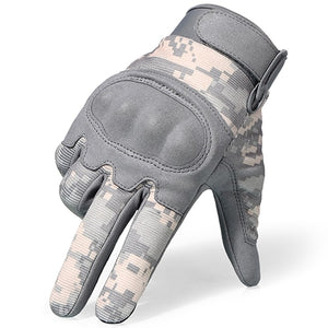 ACU Camouflage Touch Screen  Military  Anti-Skid Hard Knuckle