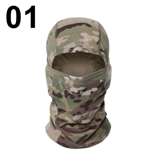 Tactical Survival Camouflage Balaclava Full Face Mask