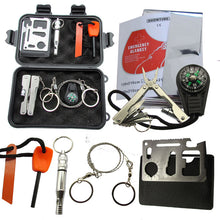 Load image into Gallery viewer, Military Survival kit Set Outdoor SOS Camping