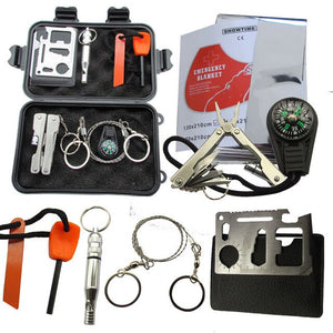 Military Survival kit Set Outdoor SOS Camping