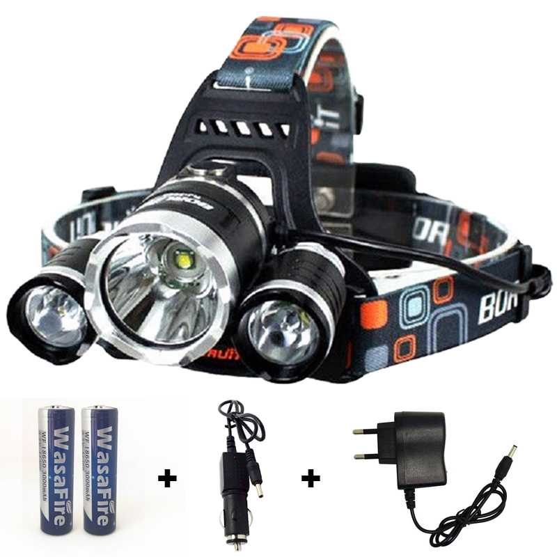 High Power Waterproof LED Headlamp Tactical  Survival