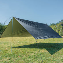 Load image into Gallery viewer, Lightweight Camping Survival Sun Shelter Outdoor Hiking Tarp Shelters