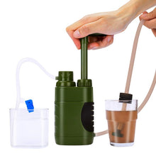 Load image into Gallery viewer, Water Filter Straw Replacement Filter Water Filtration Purifier for Outdoor Survival