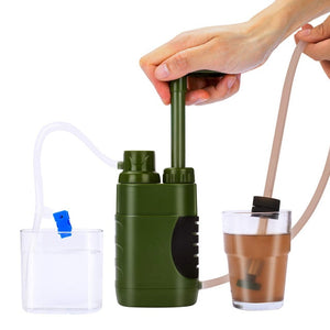 Water Filter Straw Replacement Filter Water Filtration Purifier for Outdoor Survival