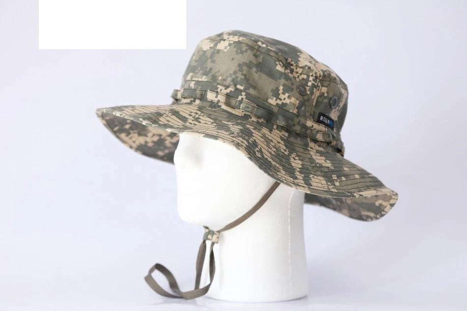 ACU Camouflage Mountaineering Survival Combat Hat
