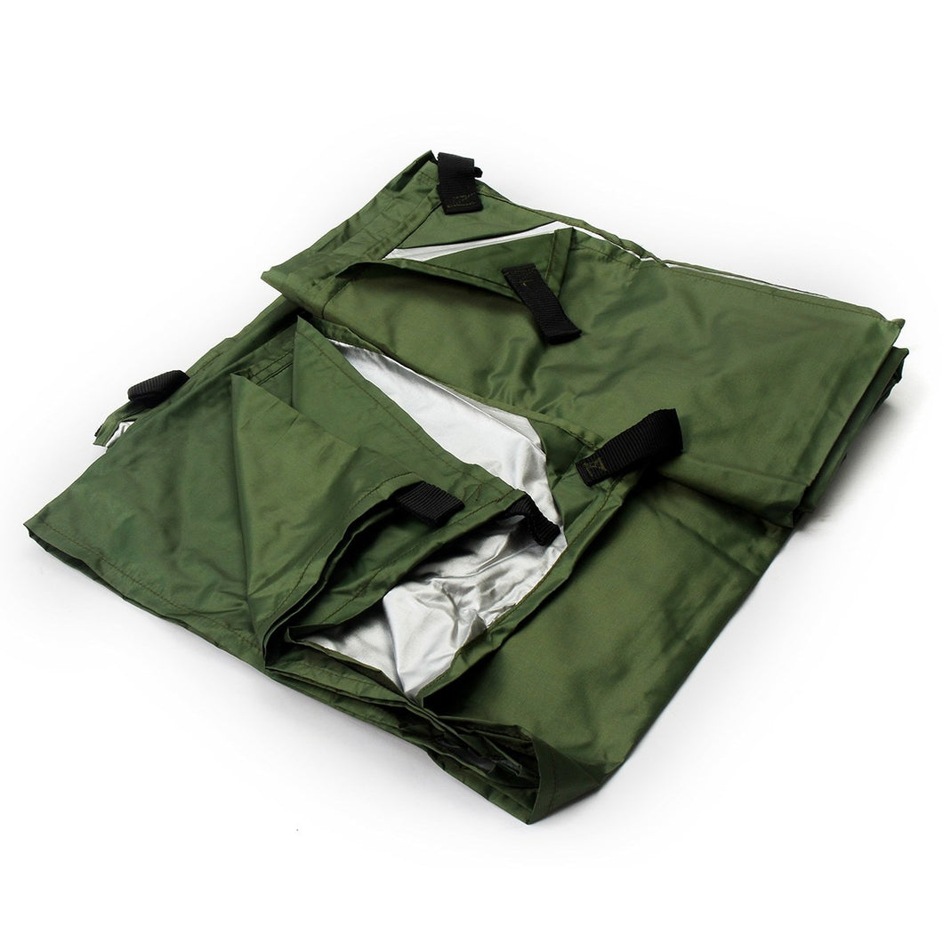 3mx3m Waterproof Sun Shelter Tarp Survival Camping Outdoor