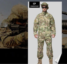 Load image into Gallery viewer, Outdoor Training Army Military Tactical Uniform  ACU Combat Uniform