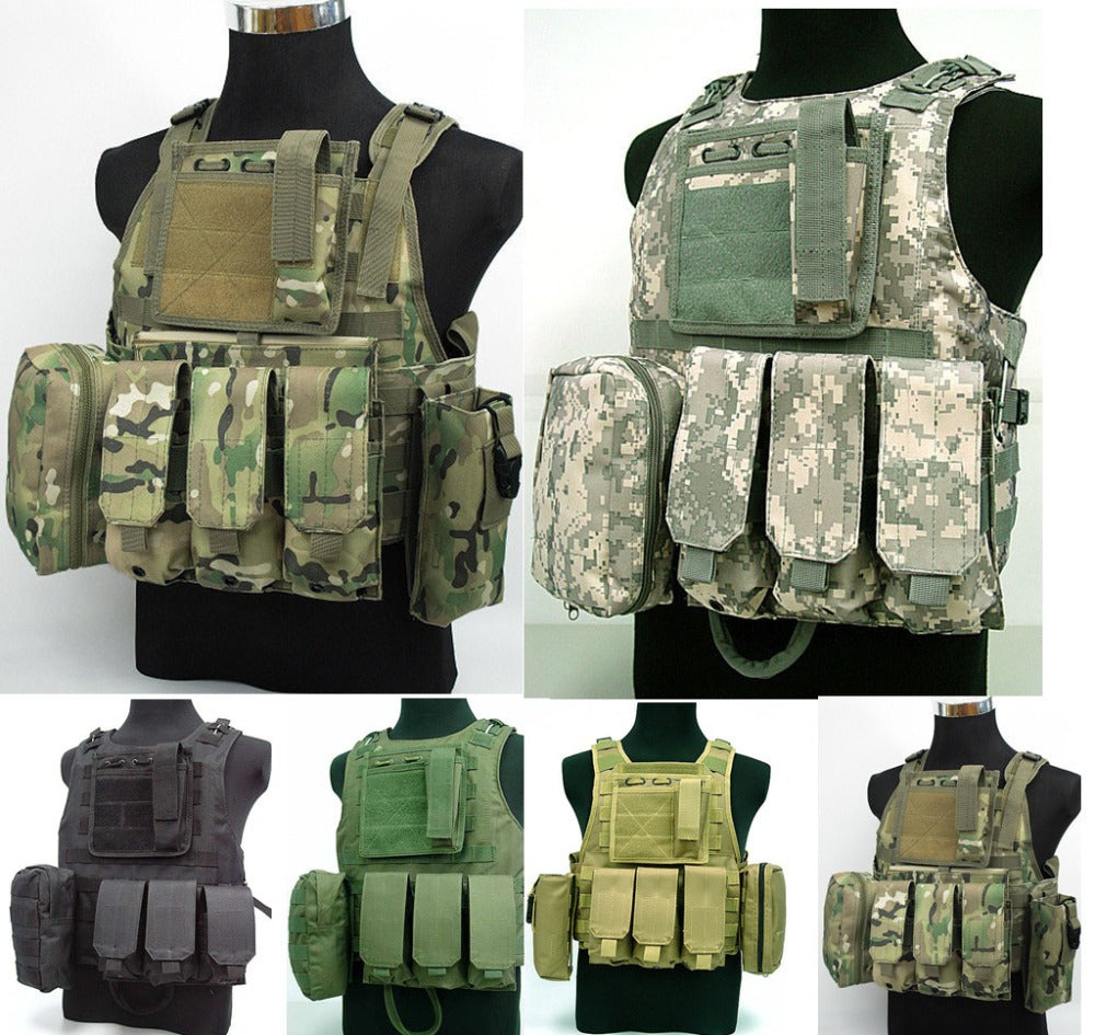 Marine Assault Survival Vest Digital ACU Tactical Vest combat vest