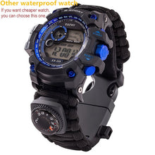 Load image into Gallery viewer, Outdoor Survival Gear Tactical Watch Multi-functional Waterproof
