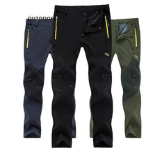 Load image into Gallery viewer, Outdoor Hiking Tactical Waterproof Pants  Mountain Climbing Quick Dry Trekking