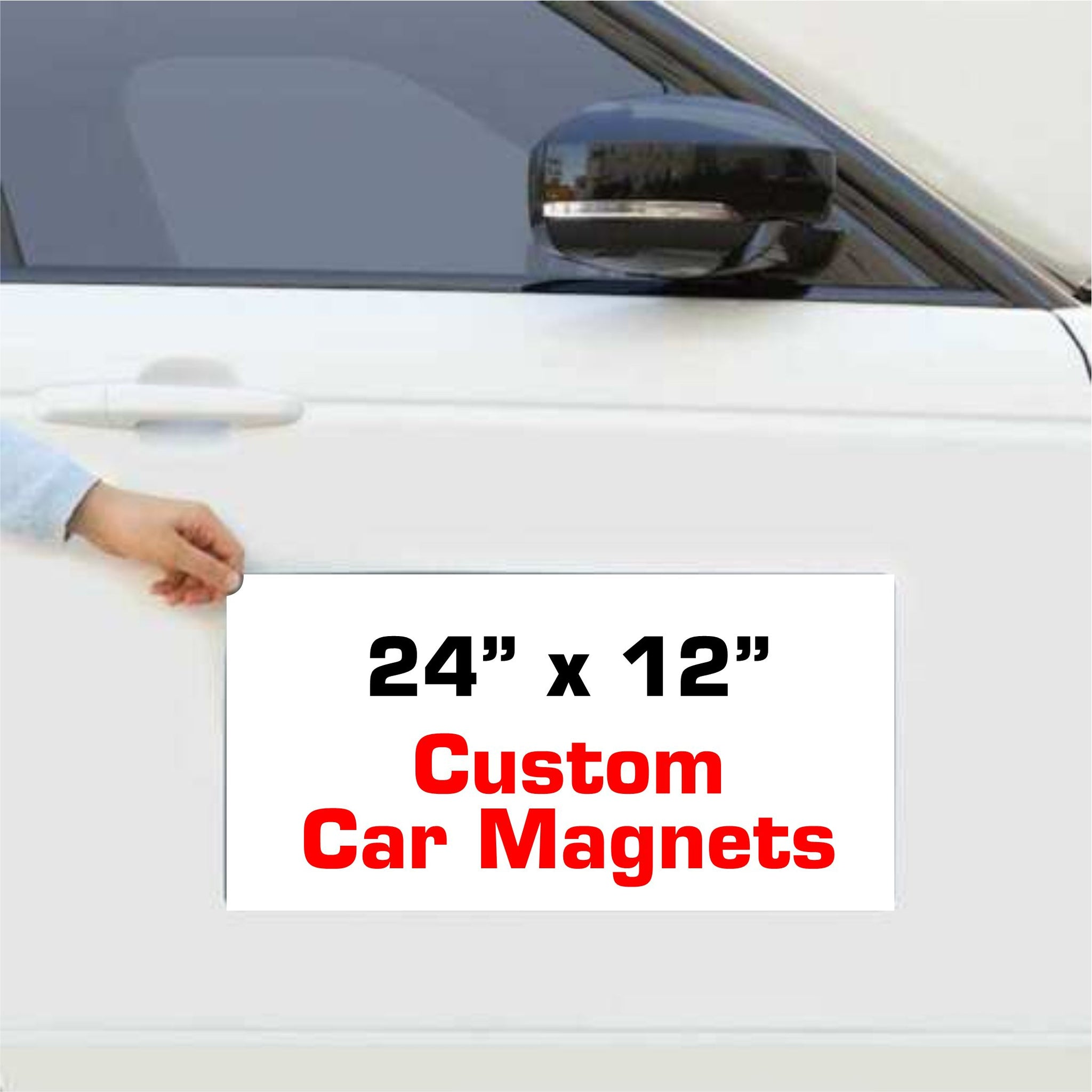 Custom Vehicle Magnets Auto Truck Van Car Signs