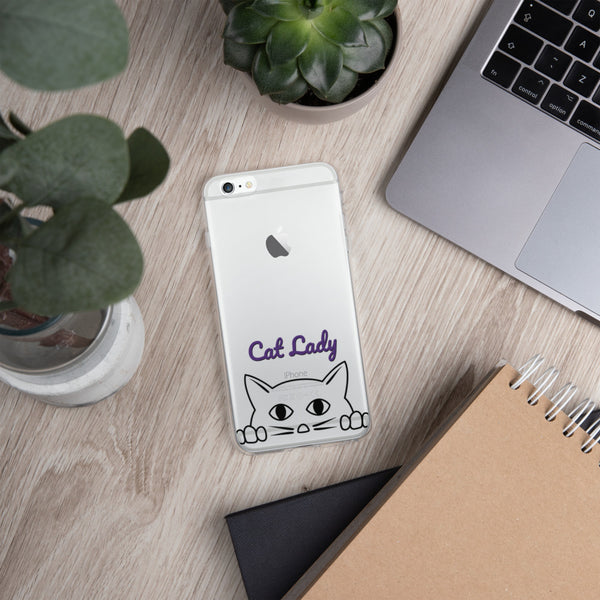 Cat Lady iPhone Case