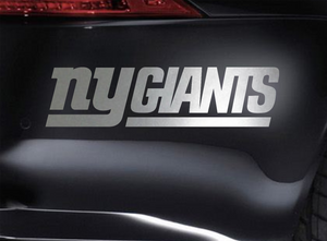 New York Giants Vinyl Car Van Truck Decal Window Sticker