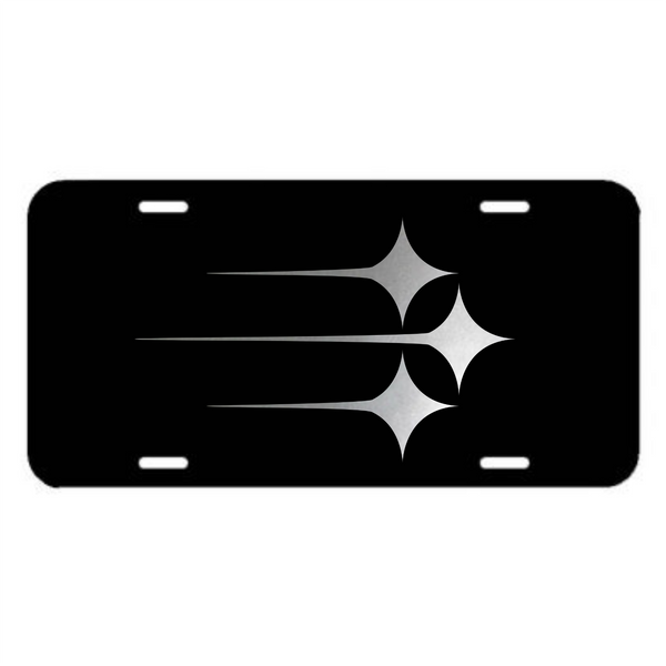 Pittsburgh Steelers Plastic License Plate