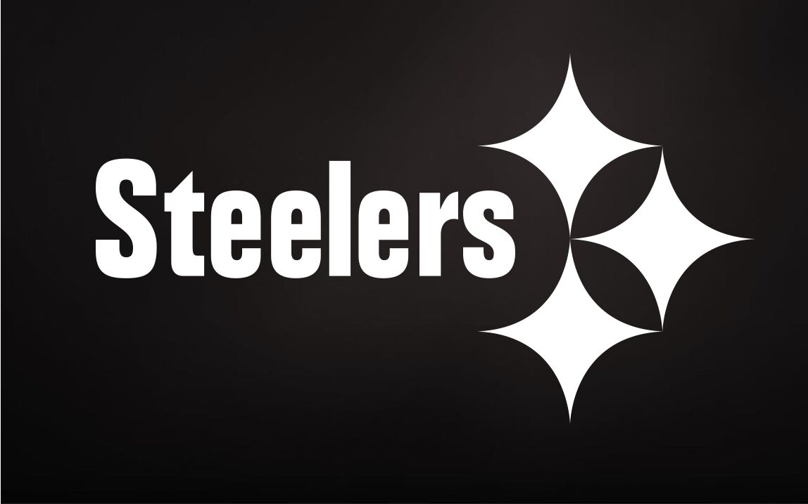 2 UNITS Pittsburgh Steelers Vinyl Car Van Truck Decal Window Sticker