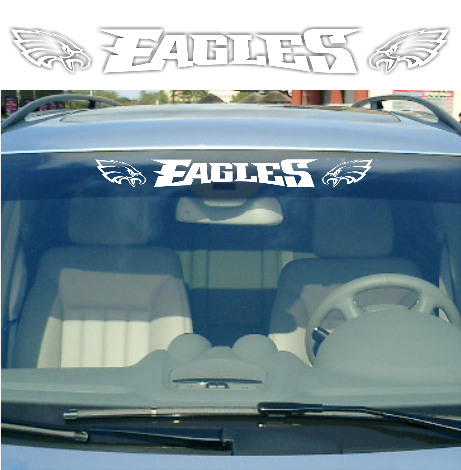 Philadelphia Eagles Vinyl Car Van Truck Decal Window Sticker