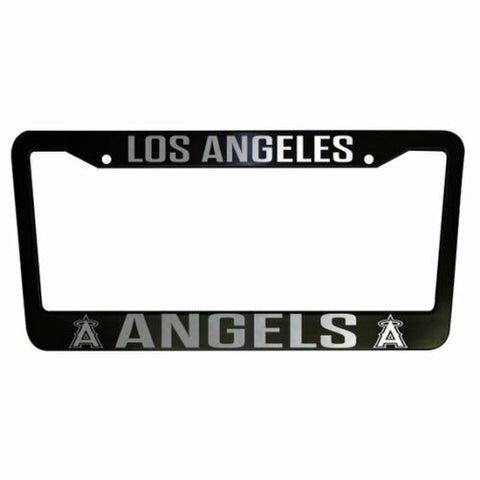 - SET of 2 - Los Angeles Angels Plastic License Plate Frames