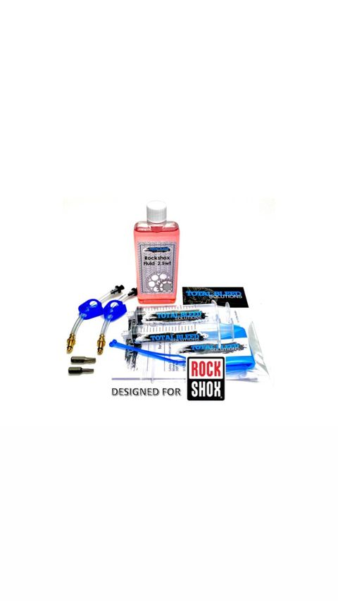 TBS RockShox Reverb Seat Post Bleed Kit with 2.5wt Fluid (100ml)