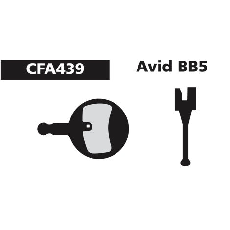 Shimano Disc Brake Pads CFA439